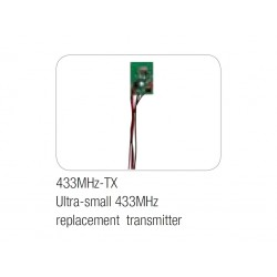 Spare transmitter 433MHz-TX, for wireless pads
