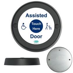 JWS Wireless Round Assisted Door Sensor & Batteries