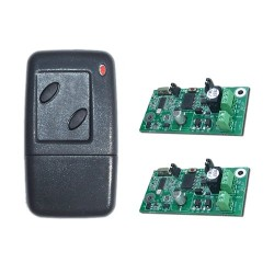 JWS 2 Channel Handheld Transmitter Key Fob and 2 Receivers